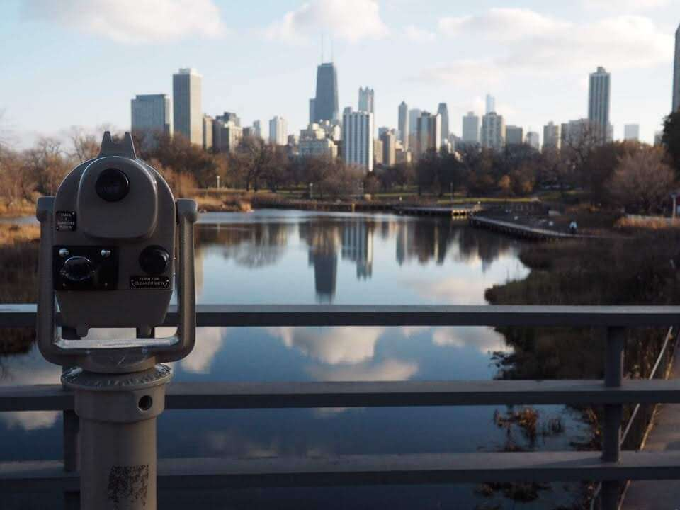 View over the Chicago Skyline