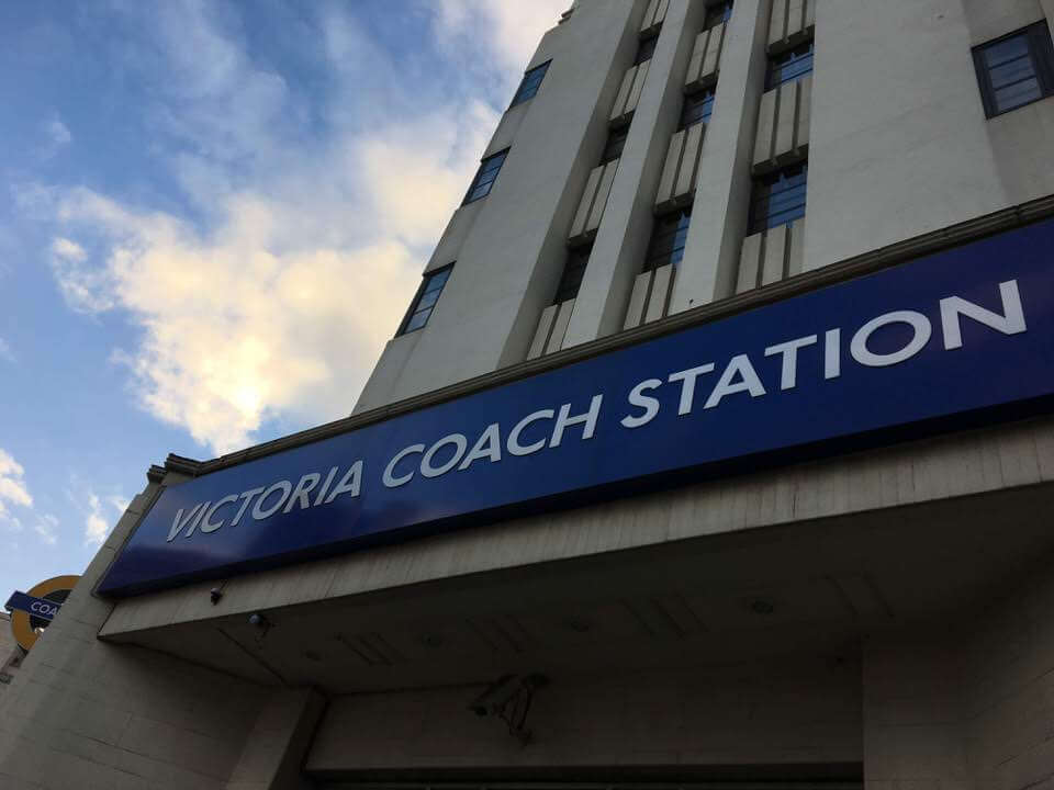 Coach Station at Victoria