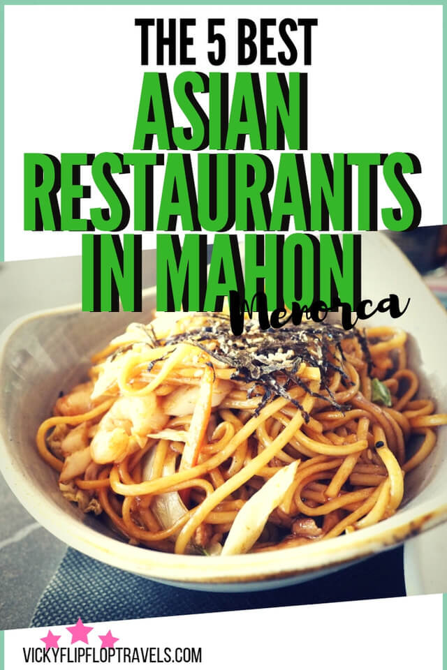 Asian food in Mahon
