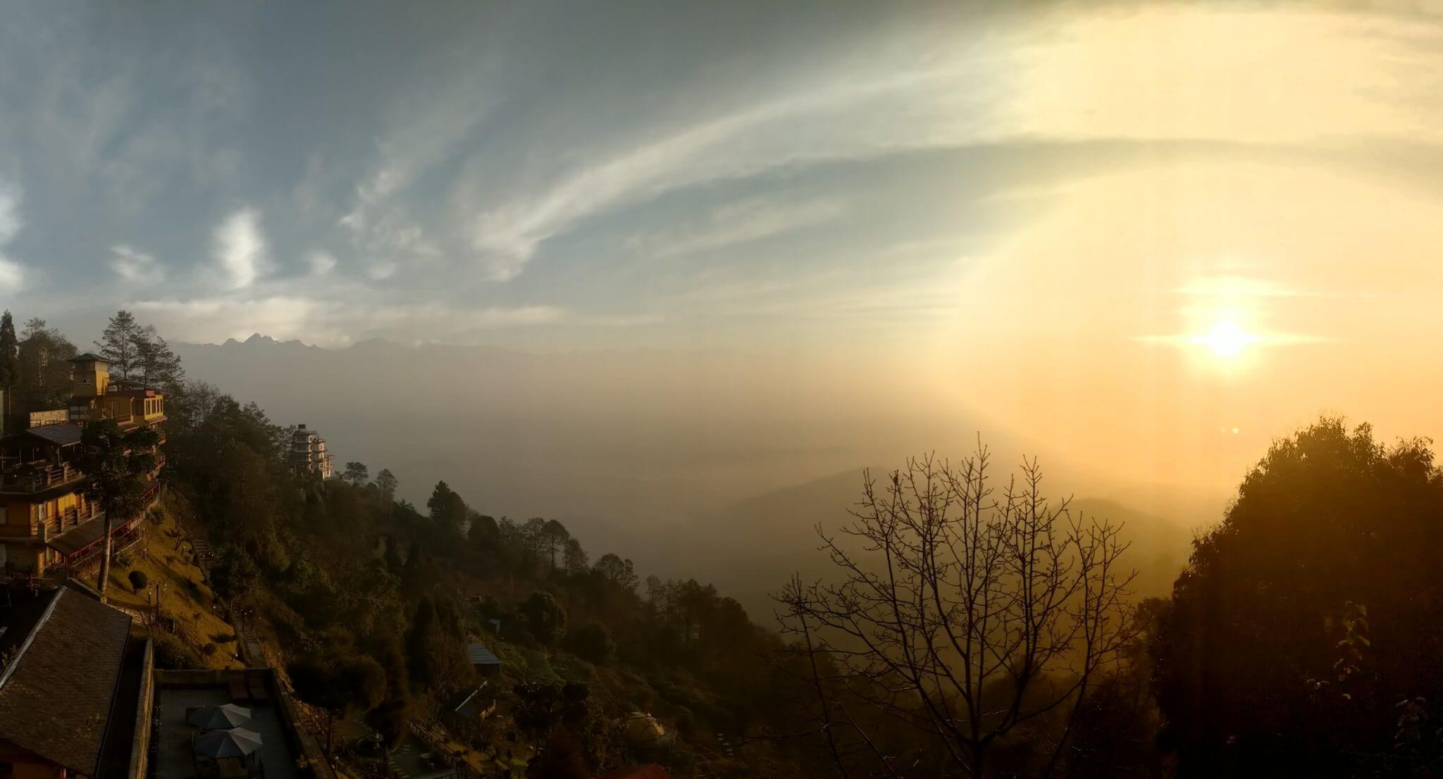Sunrise in Nagarkot