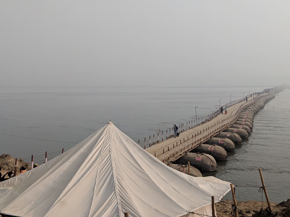 Bridge to the Kumbh Mela