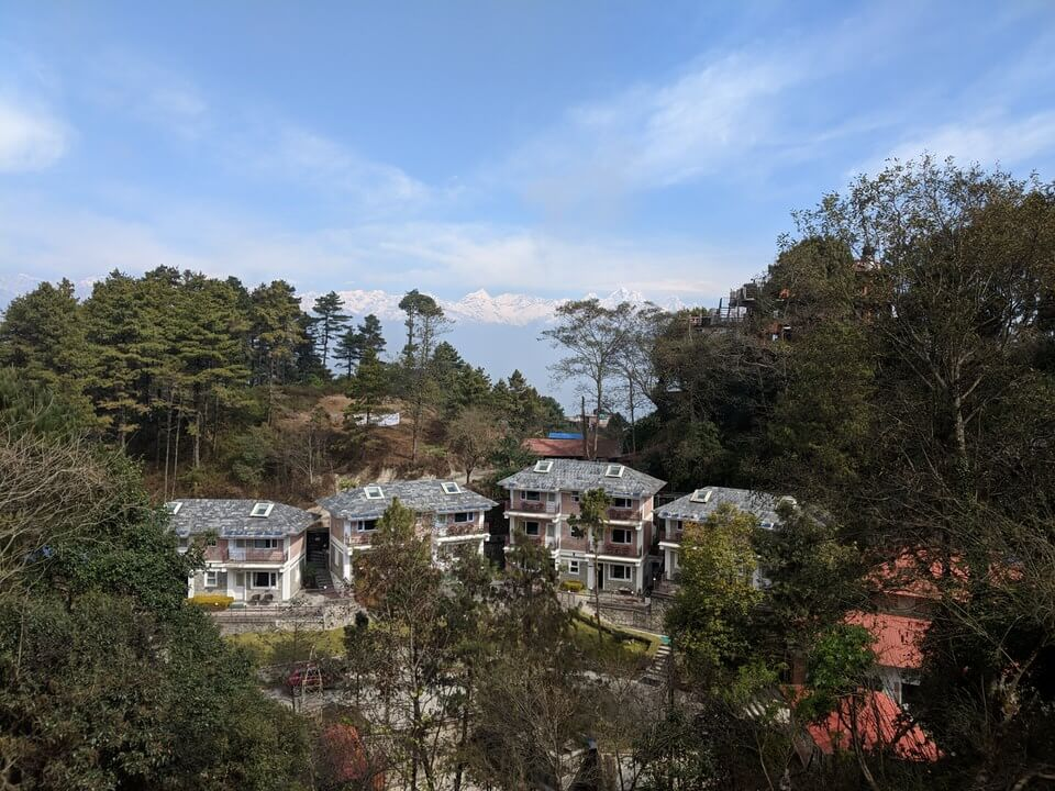Views over Nagarkot
