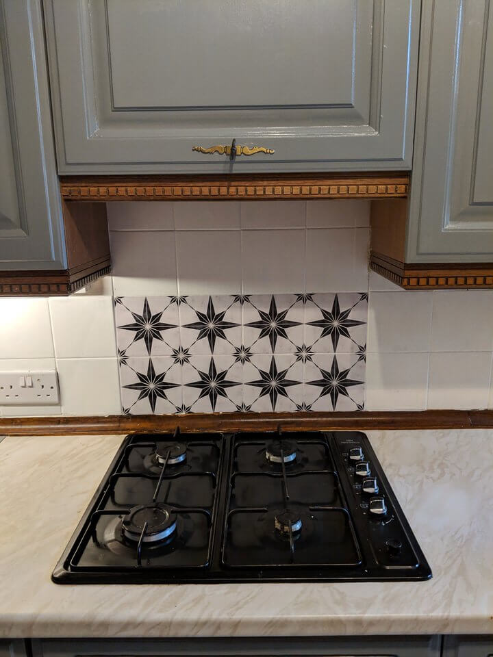 My kitchen hob