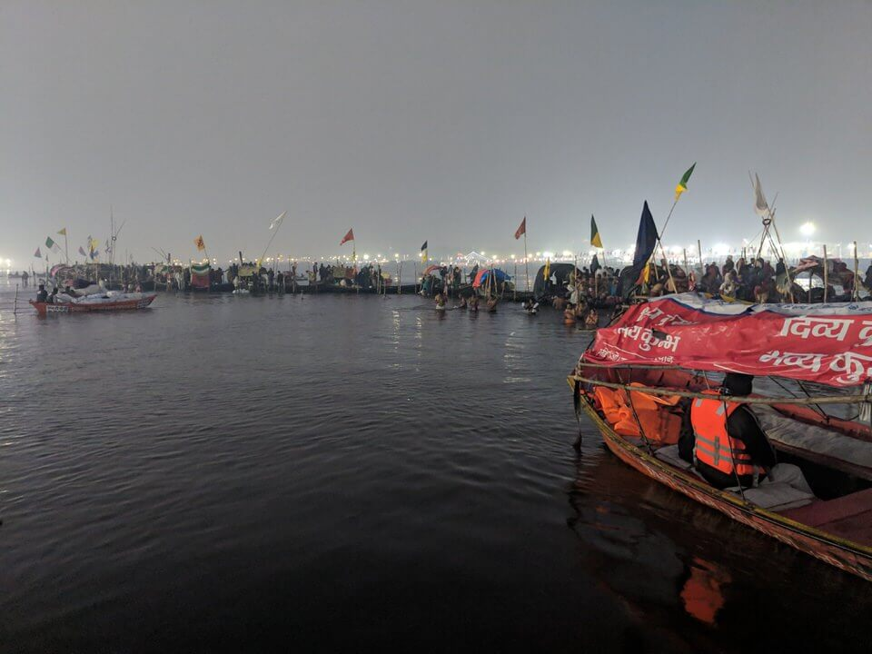 Ganges at the Kumbh Mela