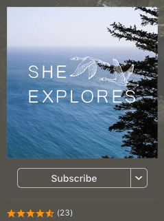 Female Travel podcasts