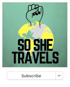Female travel podcast