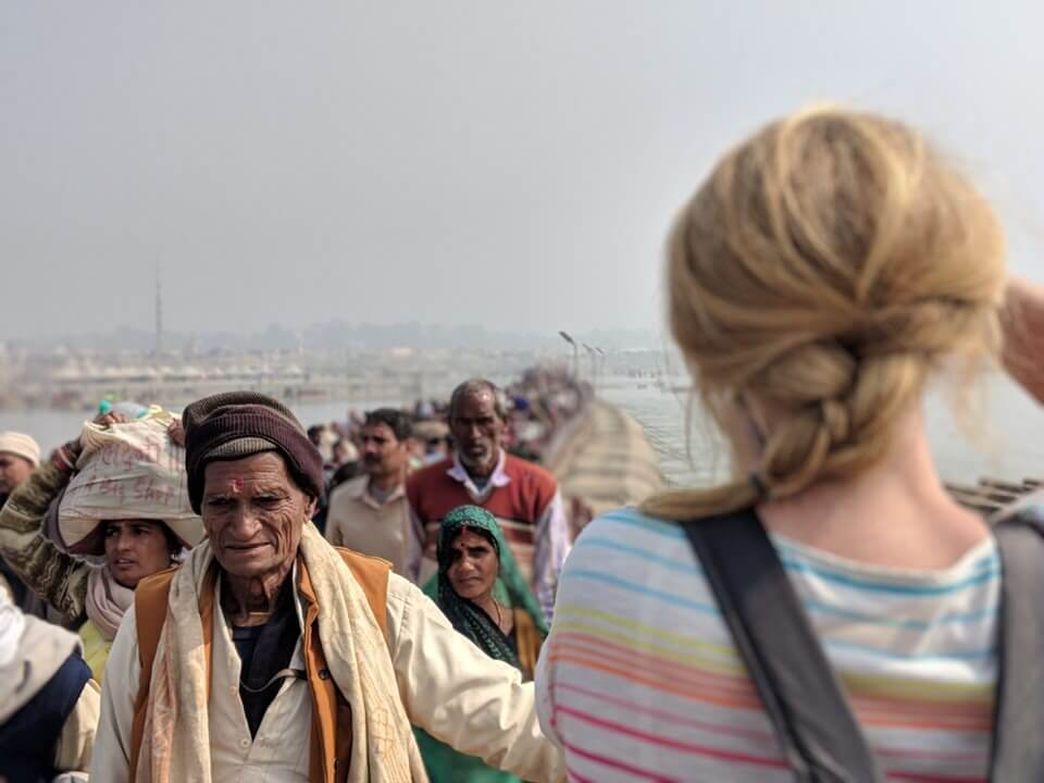Getting into the Kumbh Mela Festival