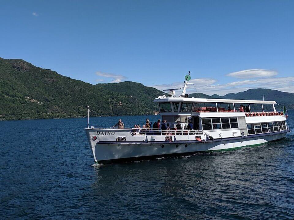 Boat to the Borromean Islands