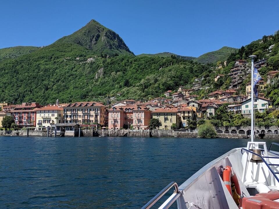 Boat ride to Cannobio