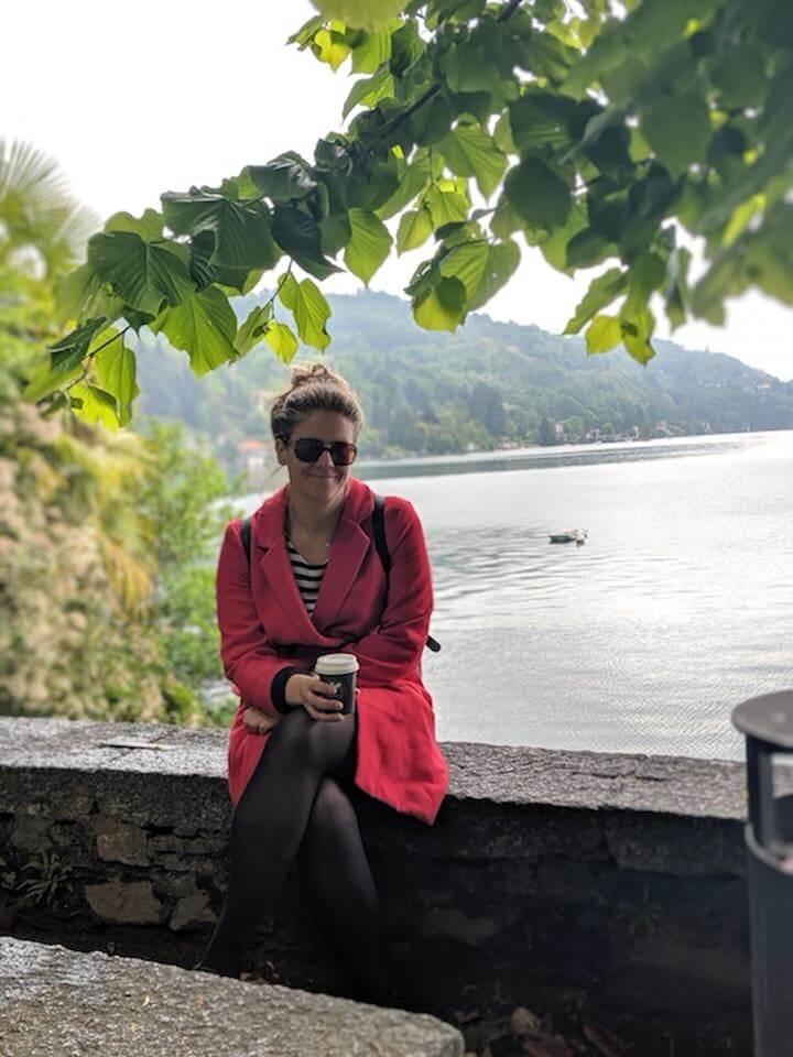 Lake Orta near Lake Maggiore