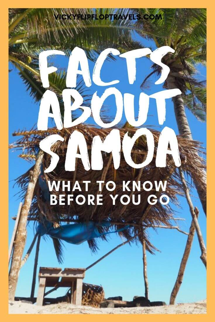 Samoa facts before you go