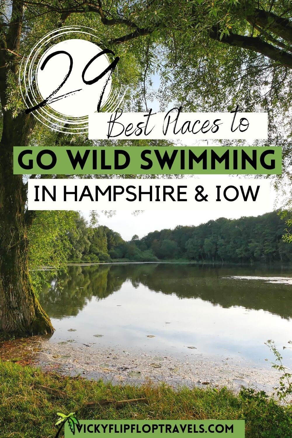 where to go open water swimming hampshire