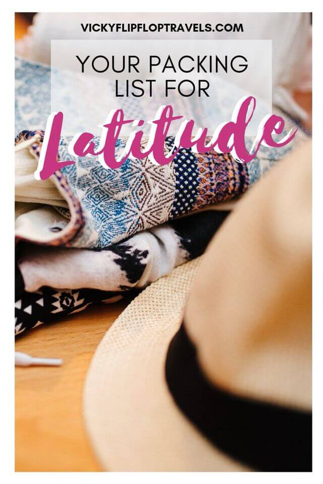 Latitude packing list