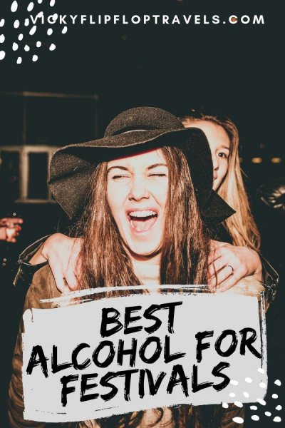 alcohol at festivals