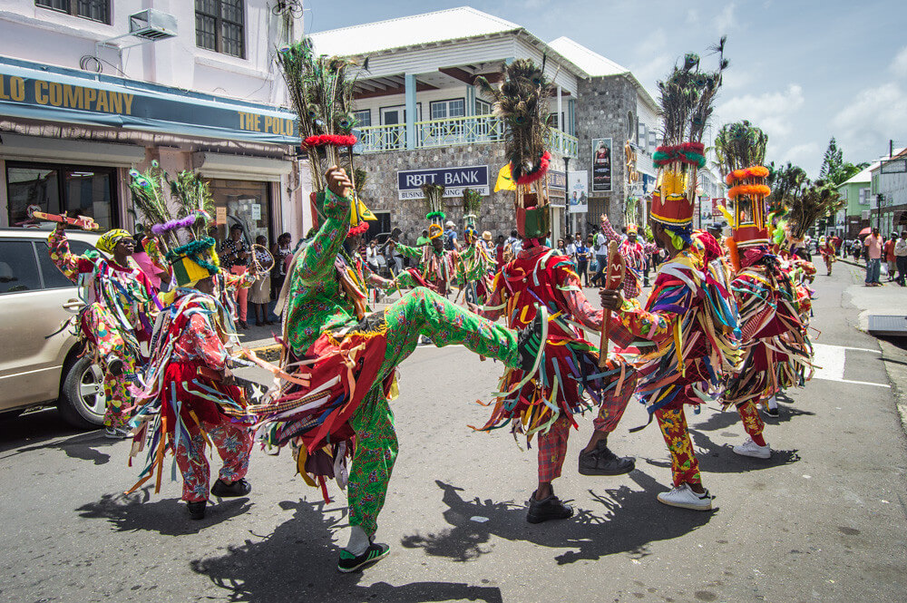 Carnival on St Kitts
