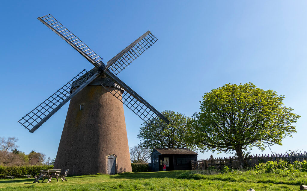 Windmill on the Isle of Wight