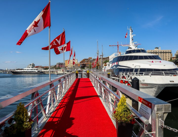 Day Trip from Vancouver to Victoria by Catamaran & Seaplane