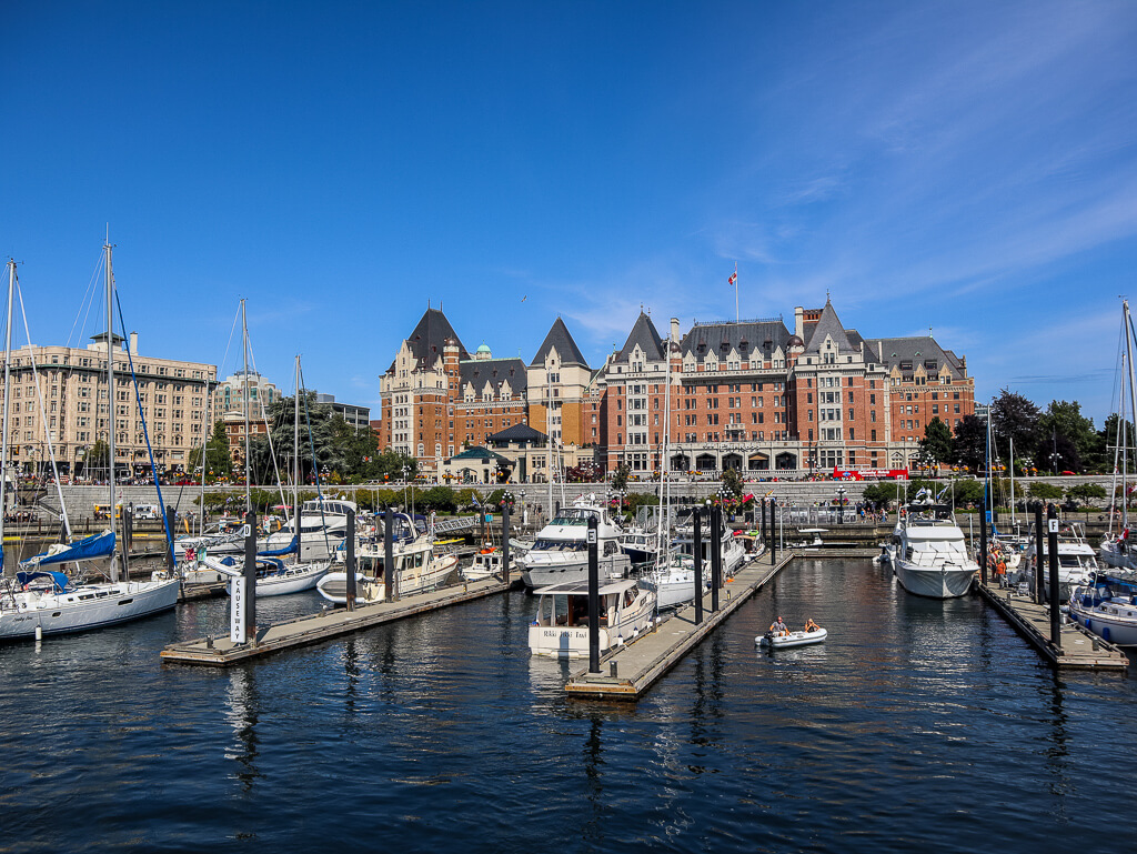 Empress Hotel Vancouver Island