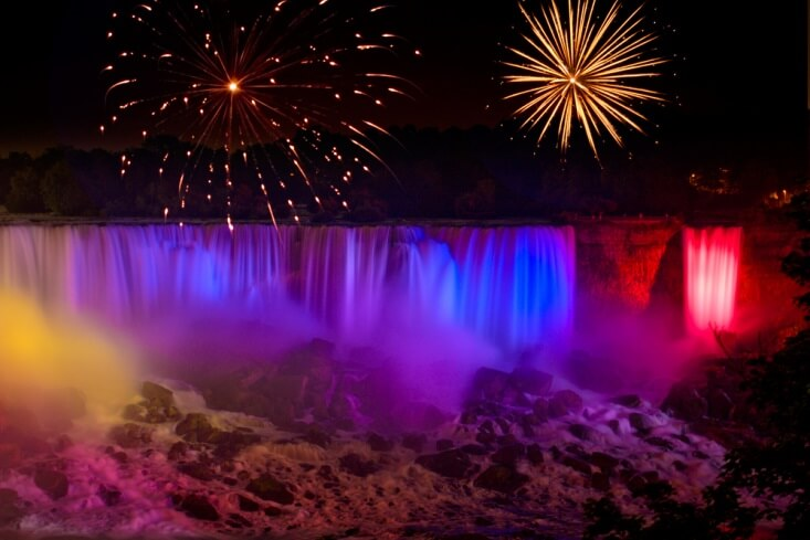 Festival of Lights Niagara