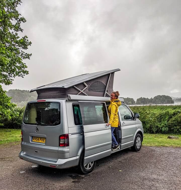 campervan routes in the uk