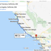 Driving from San Francisco to Los Angeles