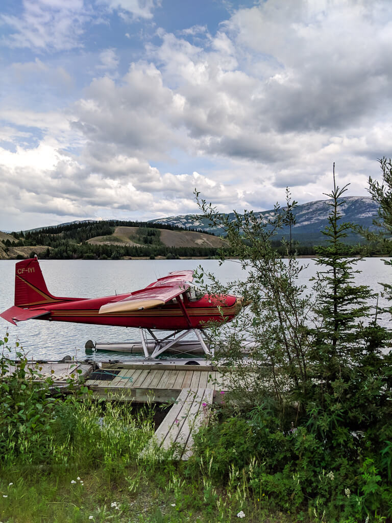 seaplane in Whitehorse