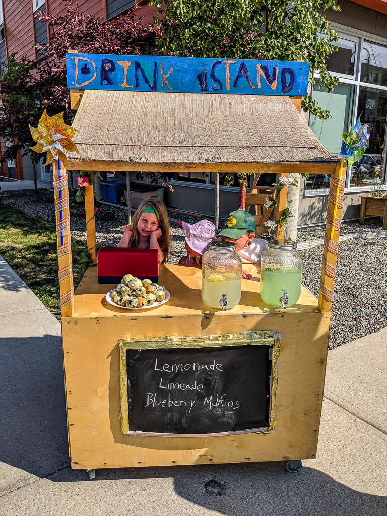 Kids lemonade in Whitehorse