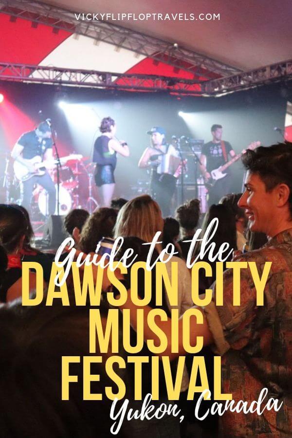 things to do Dawson City Music Festival