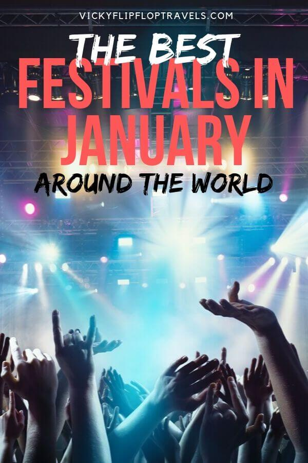 festivals in january