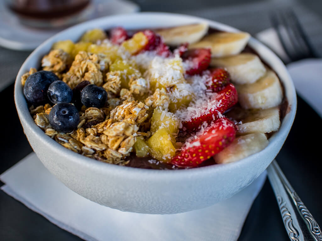 Acai berry bowl Aruba