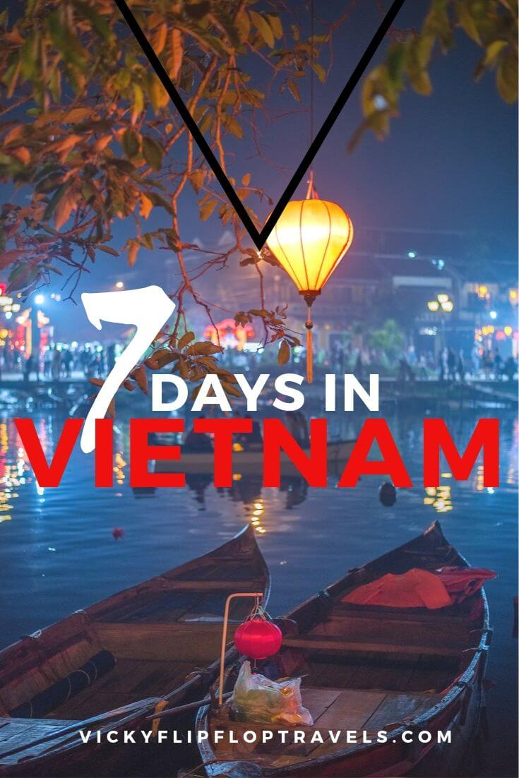 vietnam for a week