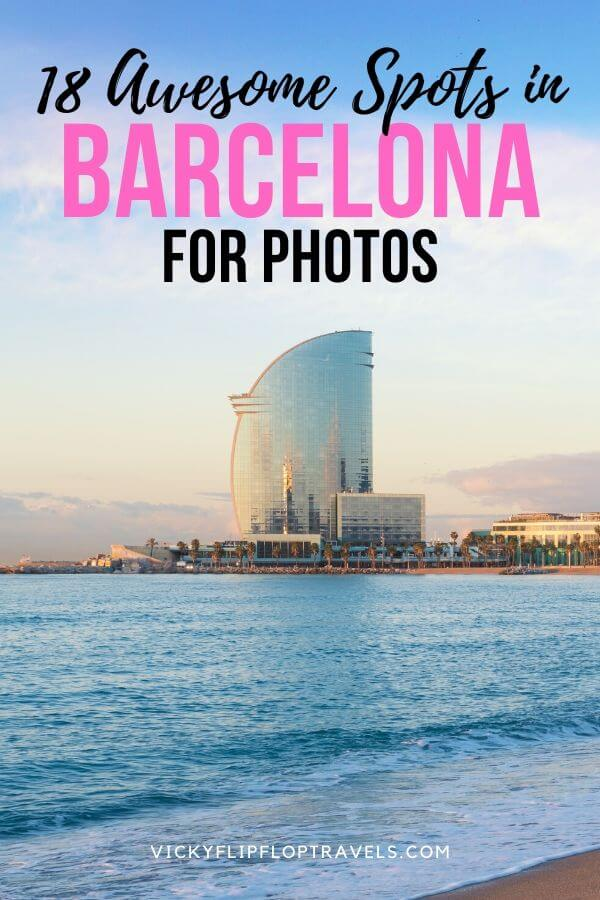 Photo spots in Barcelona