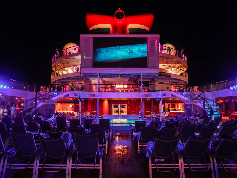 Films on the Carnival Sunrise