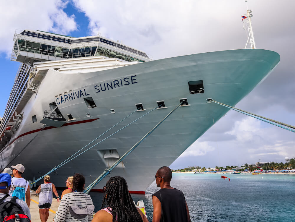 Carnival sunrise review