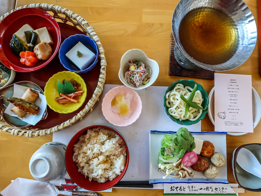 Ichinobashi Tourist Center lunch