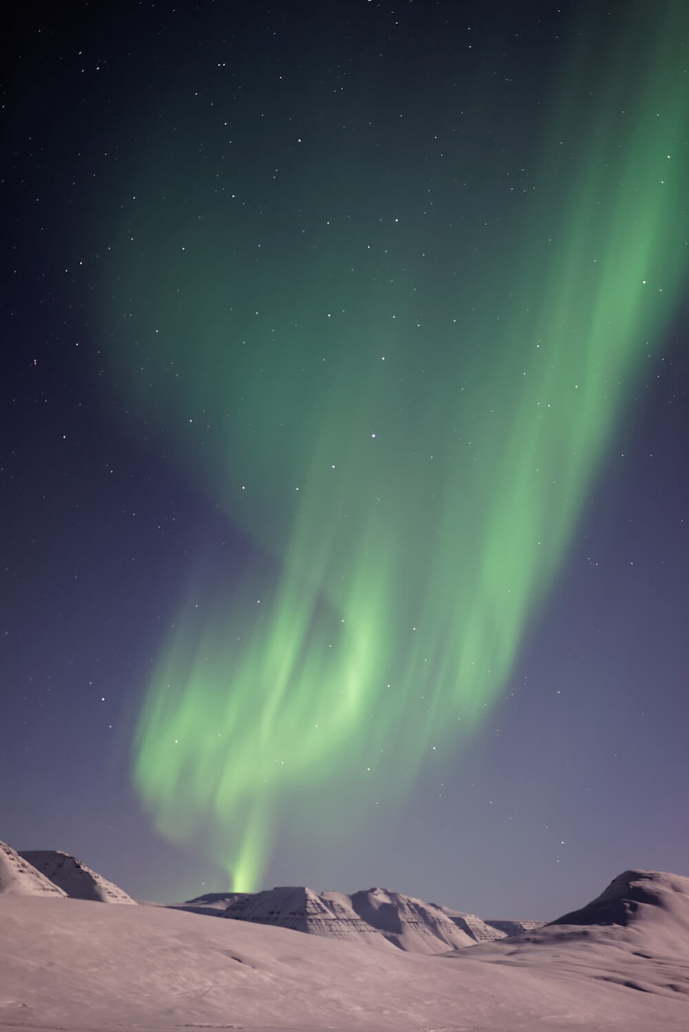 facts about iceland northen lights