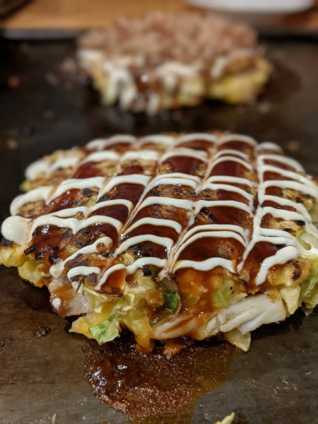 Okonomiyaki in japan