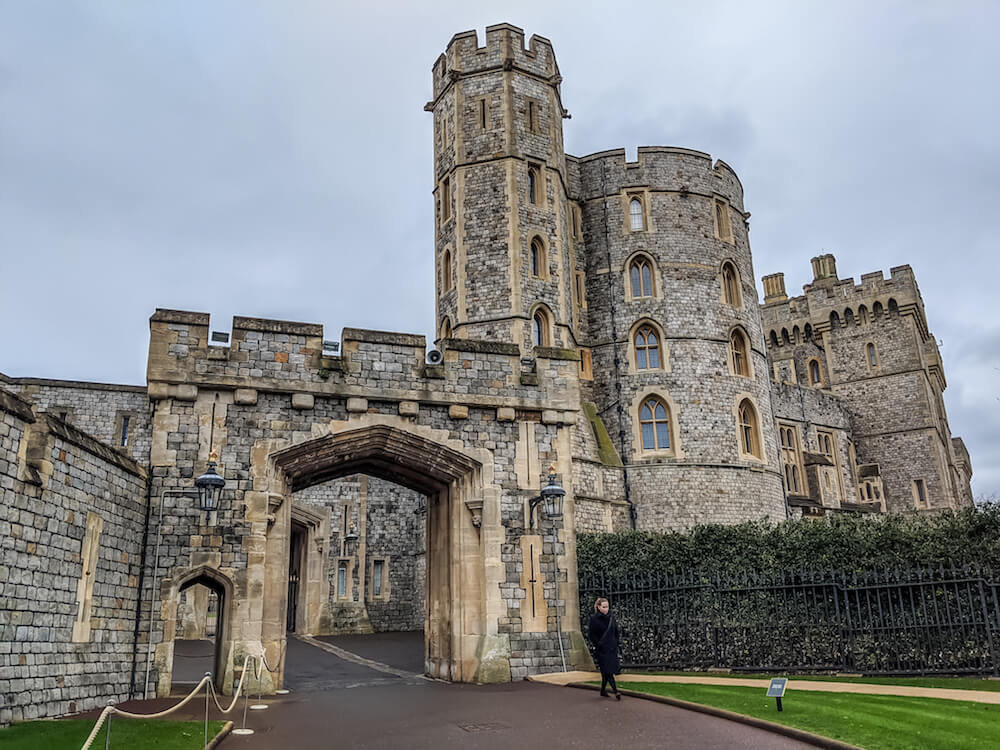 Entry to Windsor Castle
