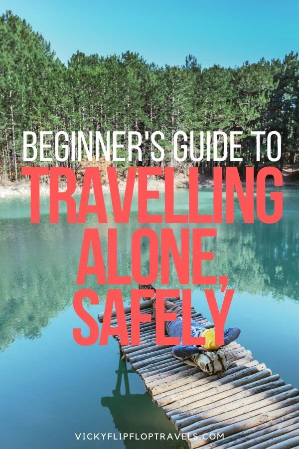 travelling alone safely