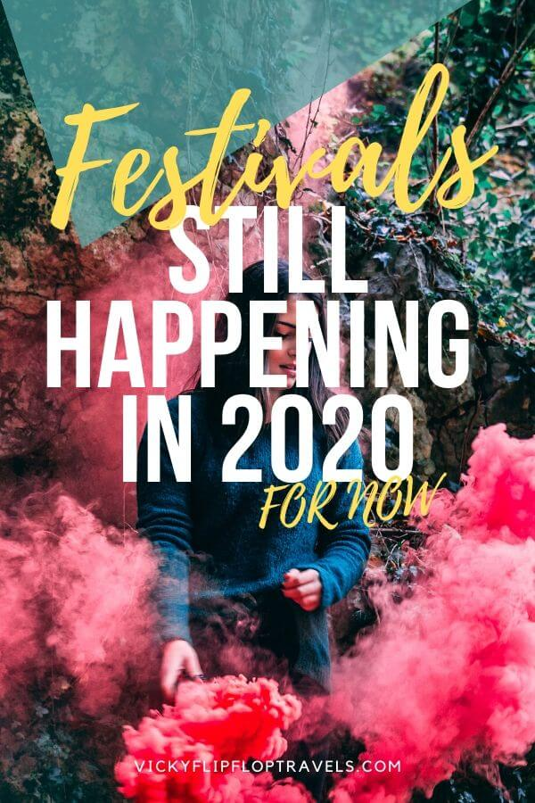 festivals still happening