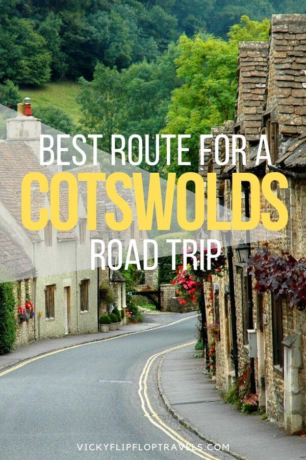 road trip to the cotswolds