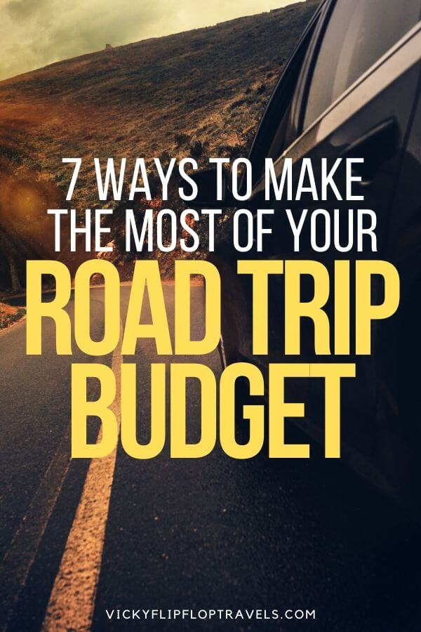 MONEY FOR A ROAD TRIP