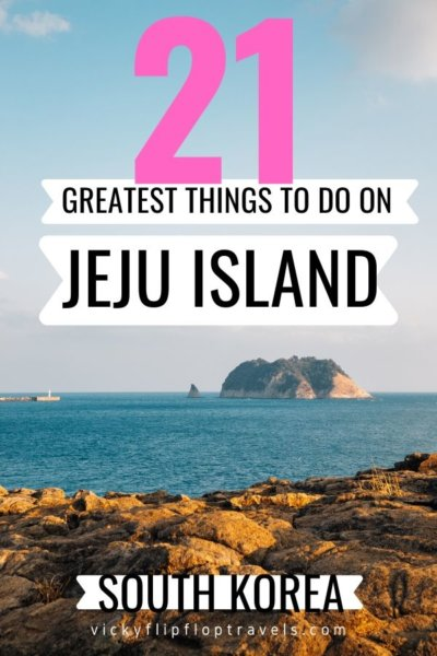 THINGS TO DO JEJU