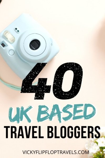 TRAVEL BLOGGERS IN THE UK