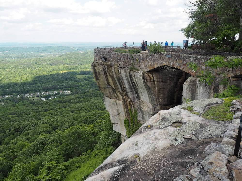 Lookout from Rock City