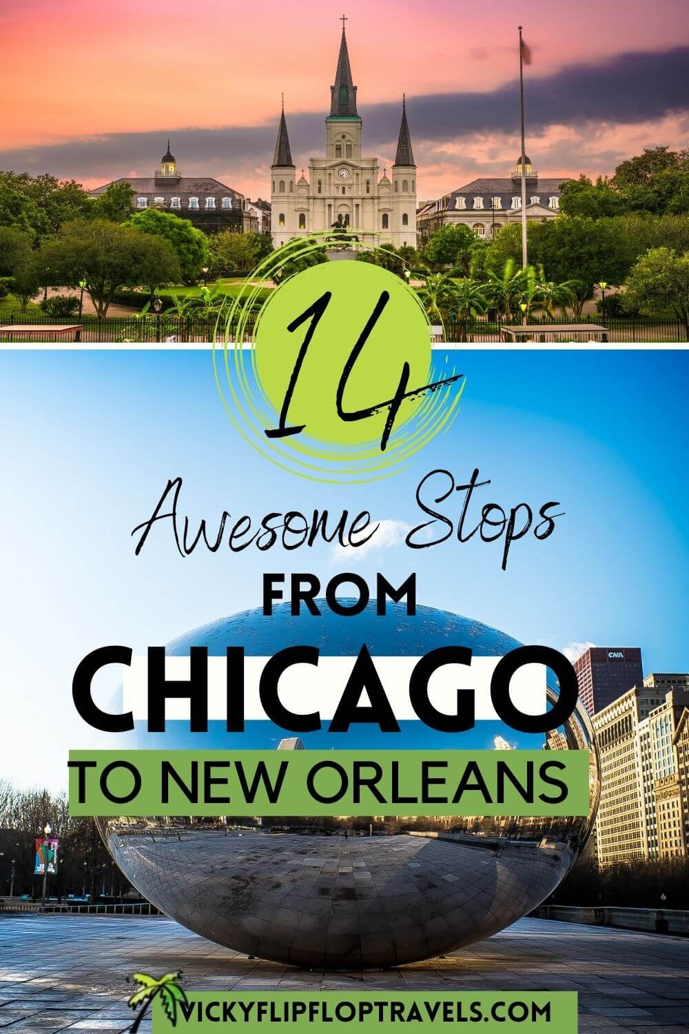 chicago to new orleans road trip