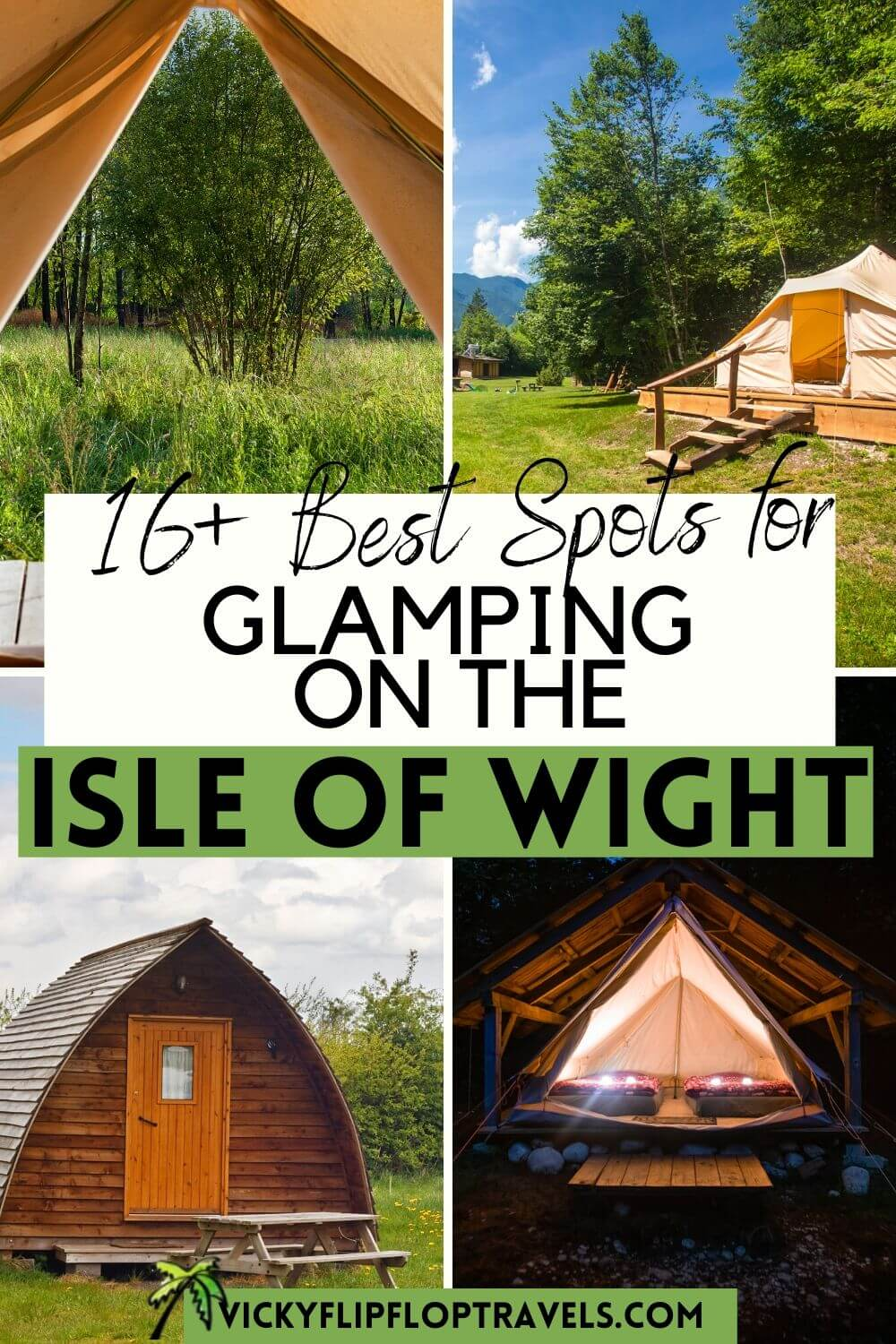 glamping on the isle of wight