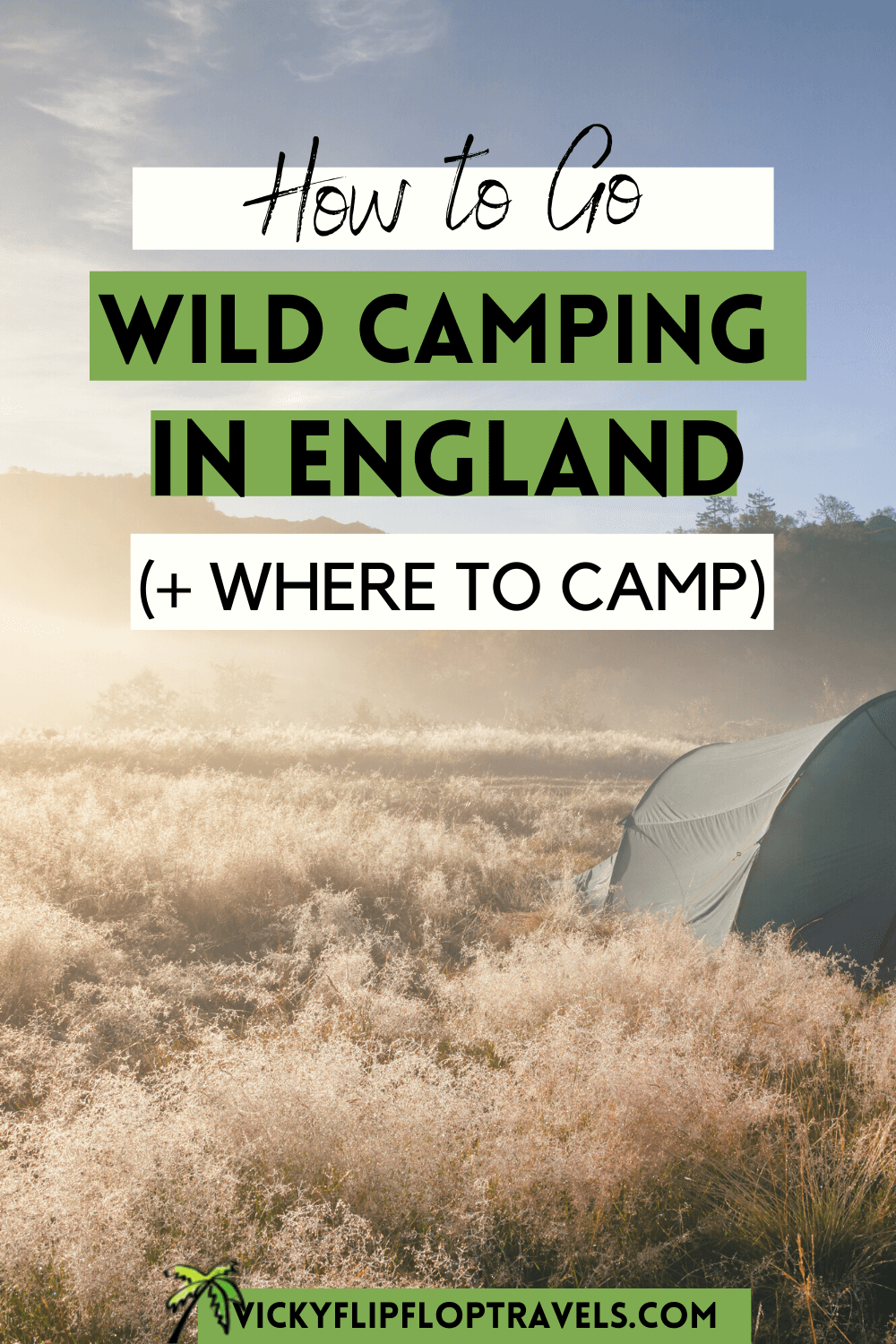 go wild camping in england