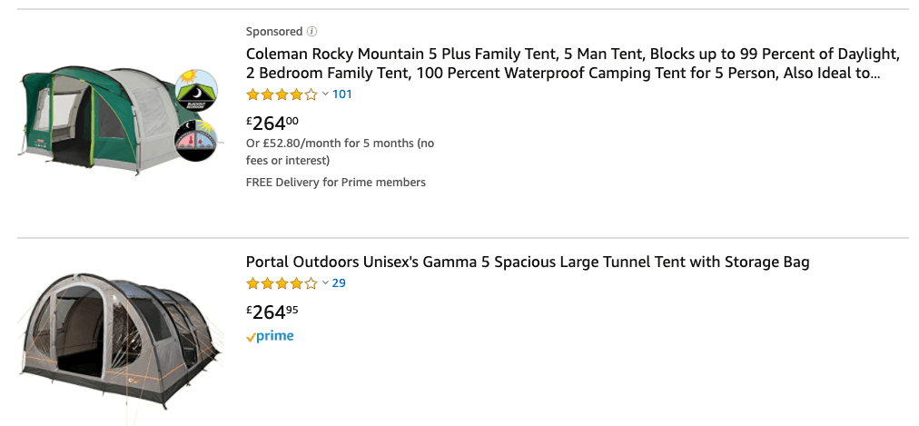 best tents to buy