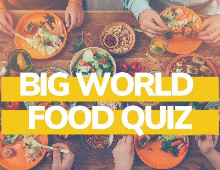 50 World Food Quiz Questions and Answers!